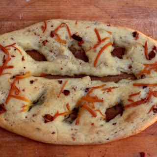 Smoky Cheese and Bacon Fougassse
