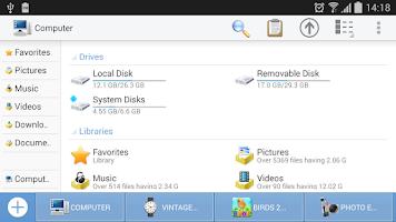 Screenshot of Computer File Explorer