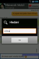 Screenshot of Oskarek SMS free