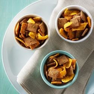 Shreddies Mayan Snack Mix.