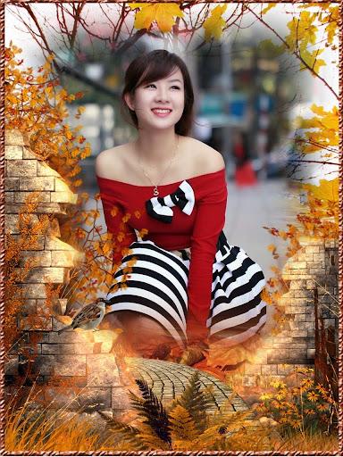 Autumn Frames Collage
