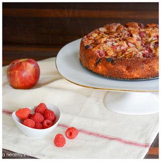 Apple-Raspberry Cake