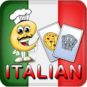 Italian Flash Cards for Kids icon