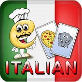 Italian Flash Cards for Kids
