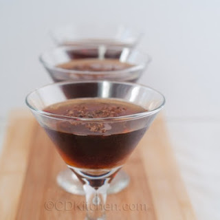 Chocolate Frangelico Martini