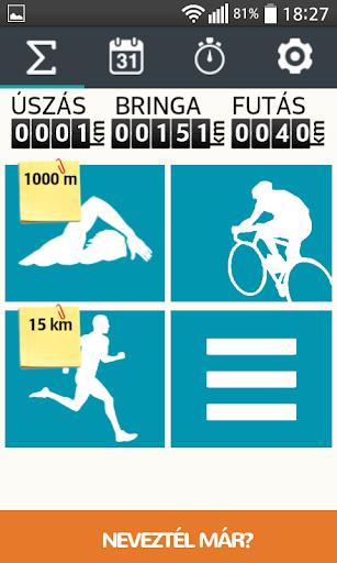 TriTime - triatlon edzésnapló