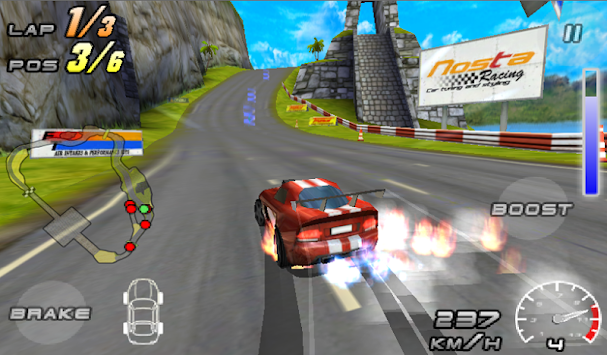 Raging Thunder 2 - FREE APK screenshot thumbnail 2