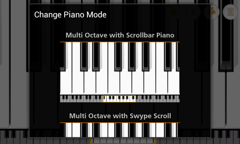 Mini Piano Pro - screenshot