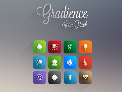 Gradience Icon Pack