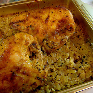 Chicken and Wild Rice Bake.