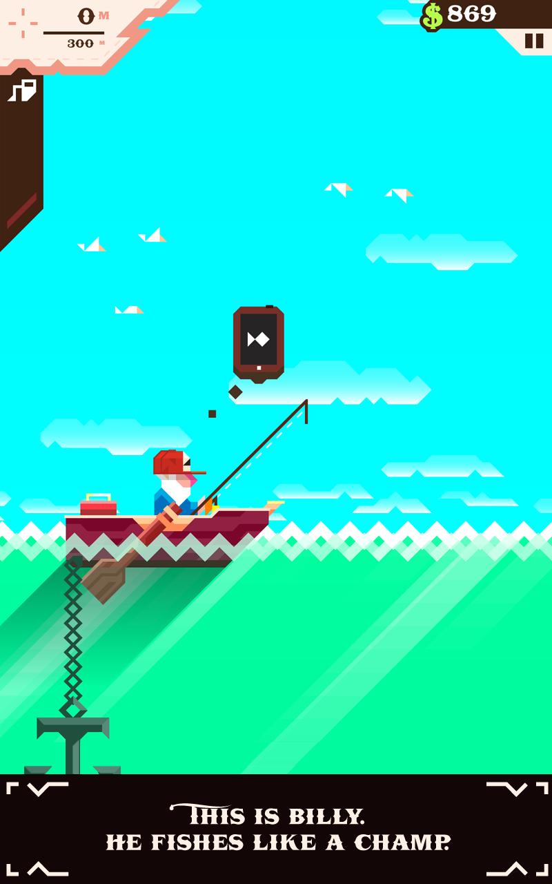 Ridiculous Fishing screenshot #11