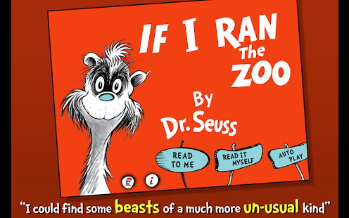 If I Ran the Zoo - Dr. Seuss- screenshot thumbnail
