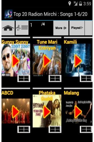 Hindi Latest Top Songs