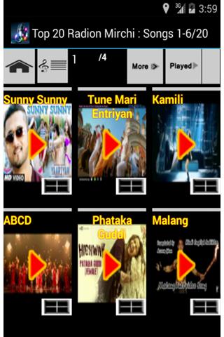 Hindi Latest Top Songs