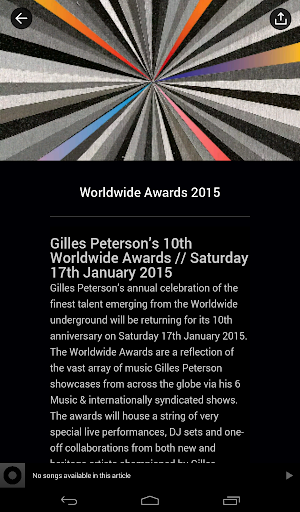 Gilles Peterson Worldwide