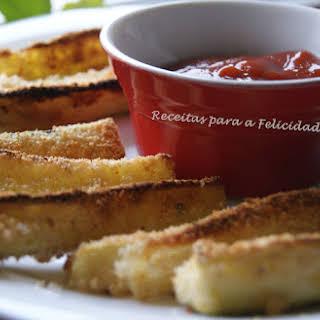 Baked Zucchini Crispy Sticks.