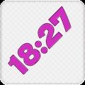 Pink Digital Clock icon