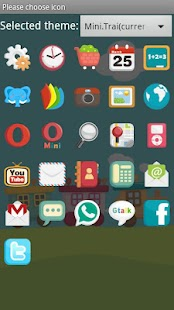 Mini.Trai Theme GO Launcher Ex - screenshot thumbnail