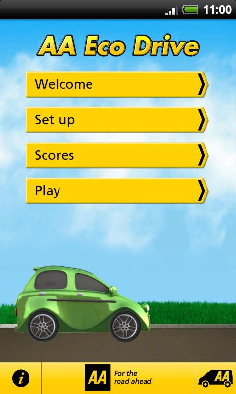 AA Eco Drive - screenshot
