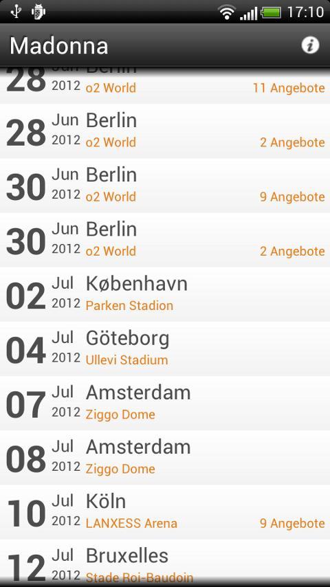 Best Price Ticket- screenshot