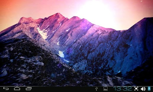 3D Kitkat 4.4 Mountain lwp - screenshot thumbnail