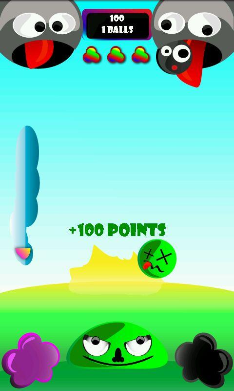 Falling Balls - screenshot