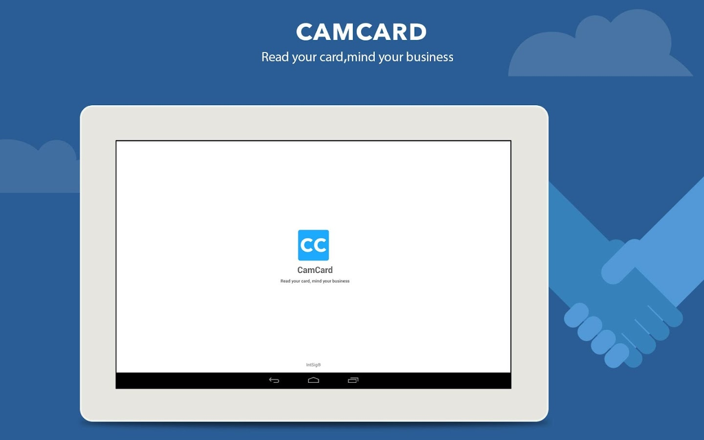 CamCard - Business Card Reader: captura de tela