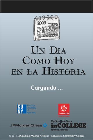 Un Dia Como Hoy en la Historia- screenshot
