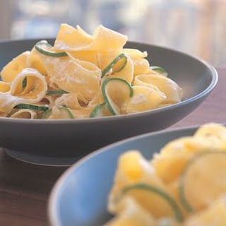 Pappardelle with Zucchini and Lemon