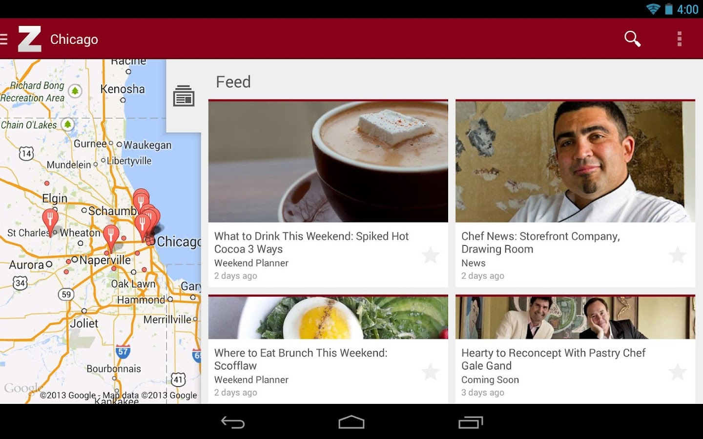 Zagat - screenshot