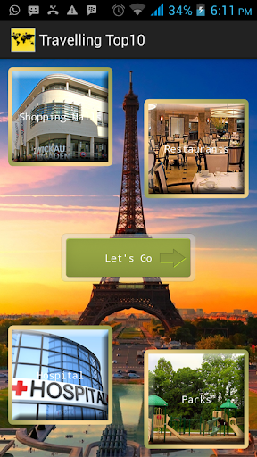 Travelling App - Top10