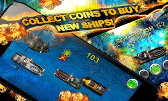 Screenshot of SEA WARS Epic Battleship Game