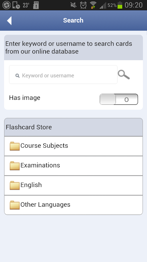 English - Russian Flashcards - screenshot