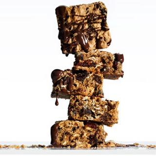 Chocolate Peanut-Butter Energy Bars.