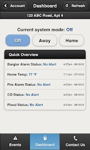 SimpliSafe Home Security App - screenshot thumbnail