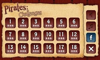 Screenshot of Pirates: Challenges AdFree