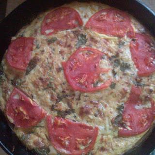 Spanish Seafood Torta.