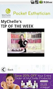 MyChelle's Pocket Esthetician - screenshot thumbnail