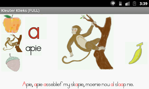 Toddler Alphabet in Afrikaans- screenshot thumbnail