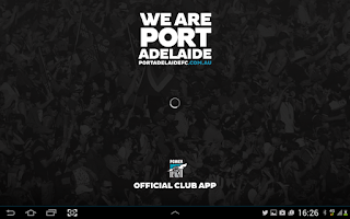 Screenshot of Port Adelaide Official App