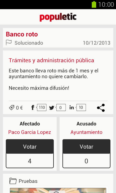 Populetic - screenshot