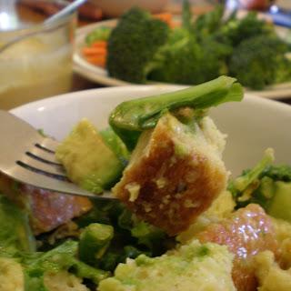 Caesar Bread Salad or Panzanella Giulio.
