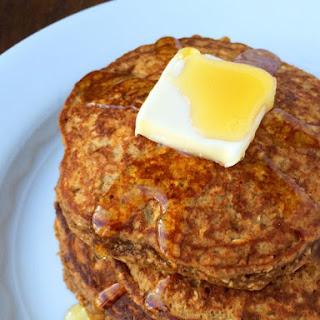 Gluten Free Gingerbread Protein Pancakes