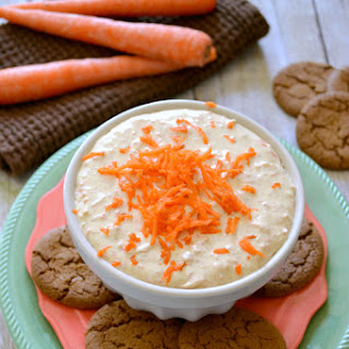 Creamy Carrot Cake Dip