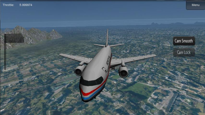 Flight Simulator 3D- screenshot
