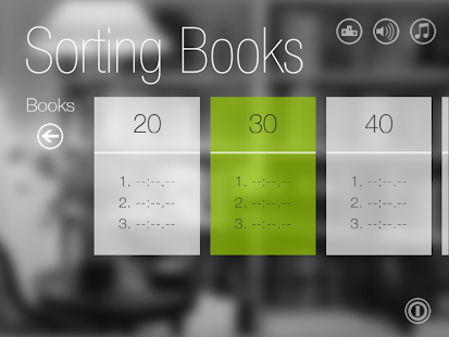 Sorting Books- screenshot thumbnail