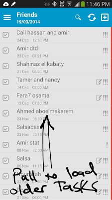 Awesome ToDo & Toodledo Tasks - screenshot
