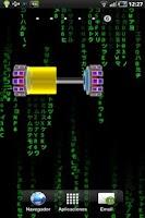Screenshot of Battery Power Cell Widget