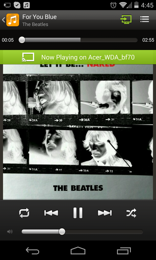 abMusic (music player) - screenshot