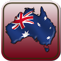 Map of Australia icon